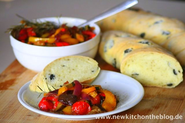 Olivenbaguette selber backen Rezept