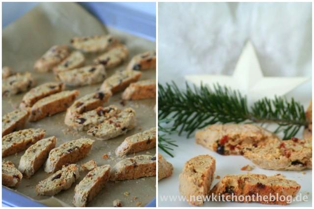 Walnuss-Cantuccini für die Weihnachtsbäckerei