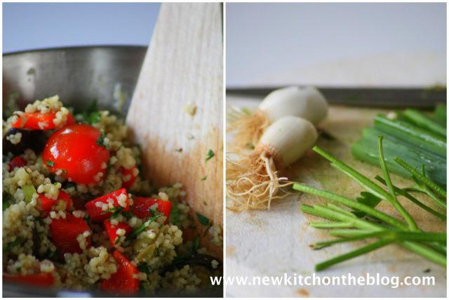 Couscoussalat mit Gemüse