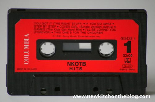 New Kids on the Blog Tape