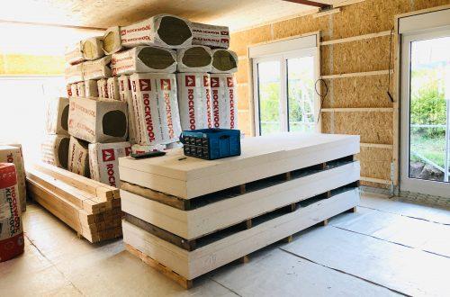 Fermacellplatten für Innenausbau beim Hausbau
